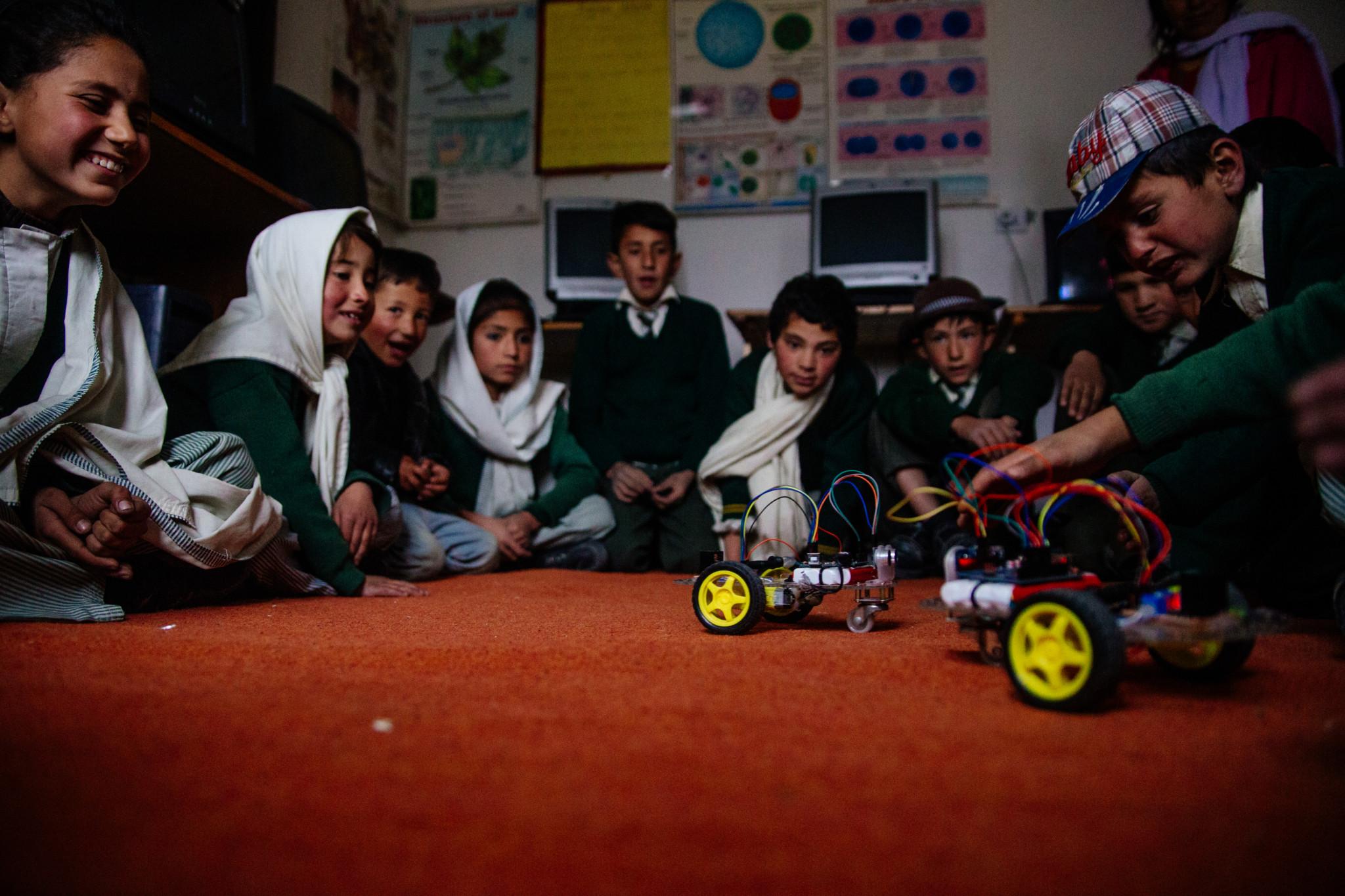 Robotik-Programm von IEI Pakistan