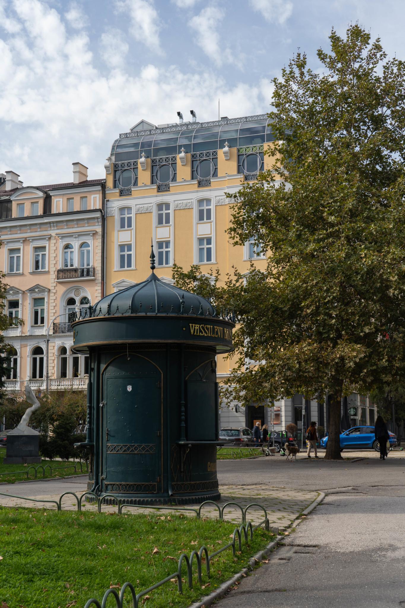 Kleiner Kiosk in Sofia