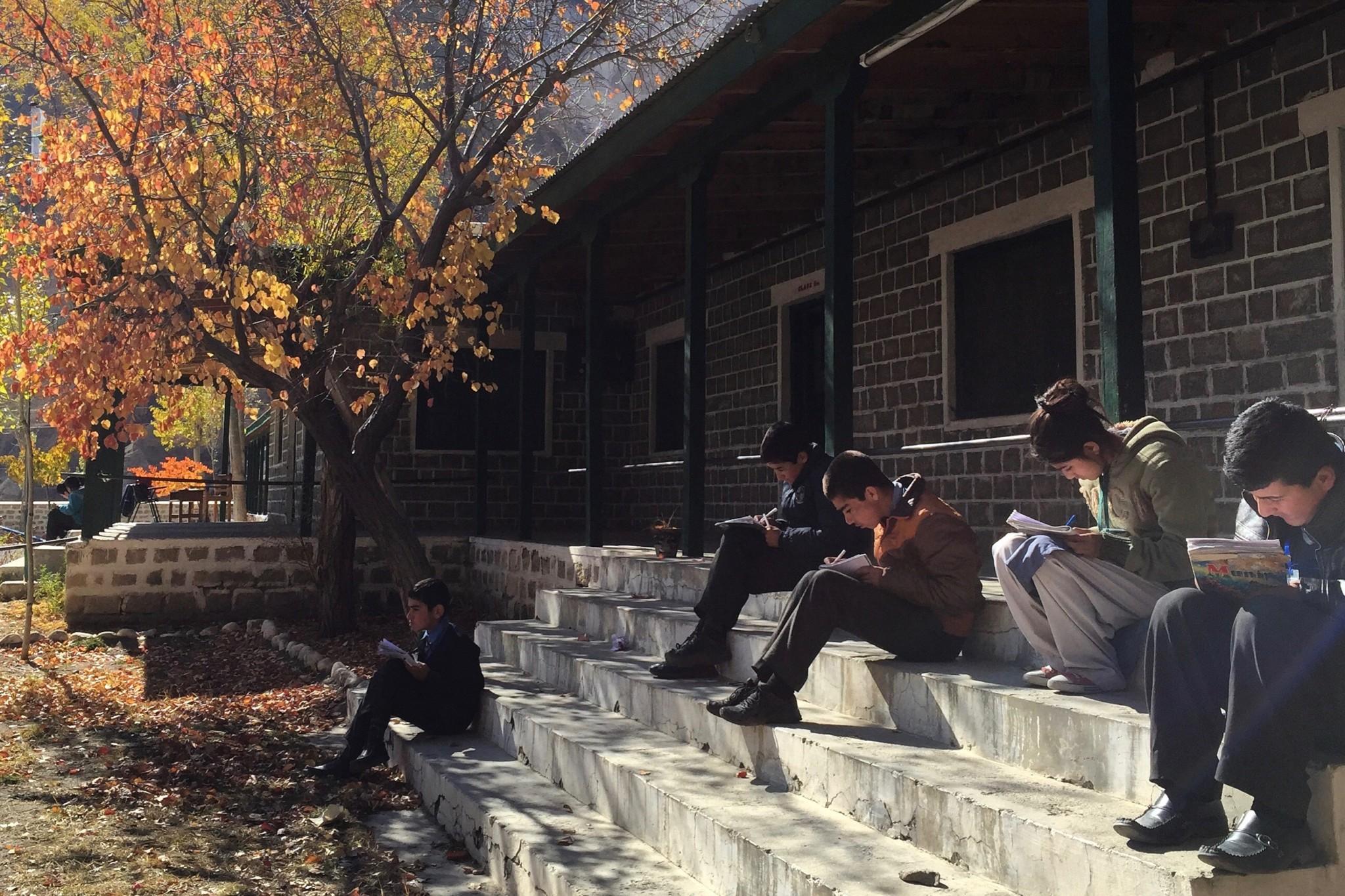Lernen in den Bergen