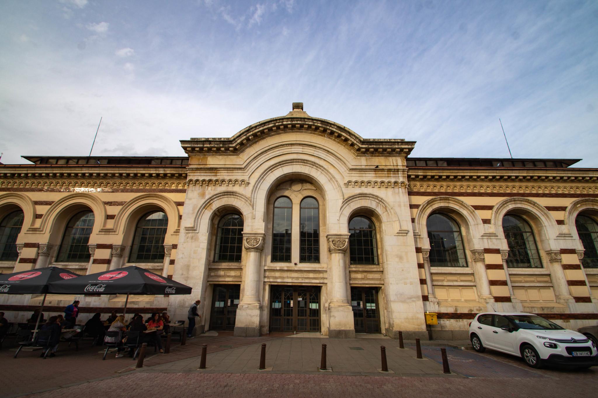 Markthalle in Sofia