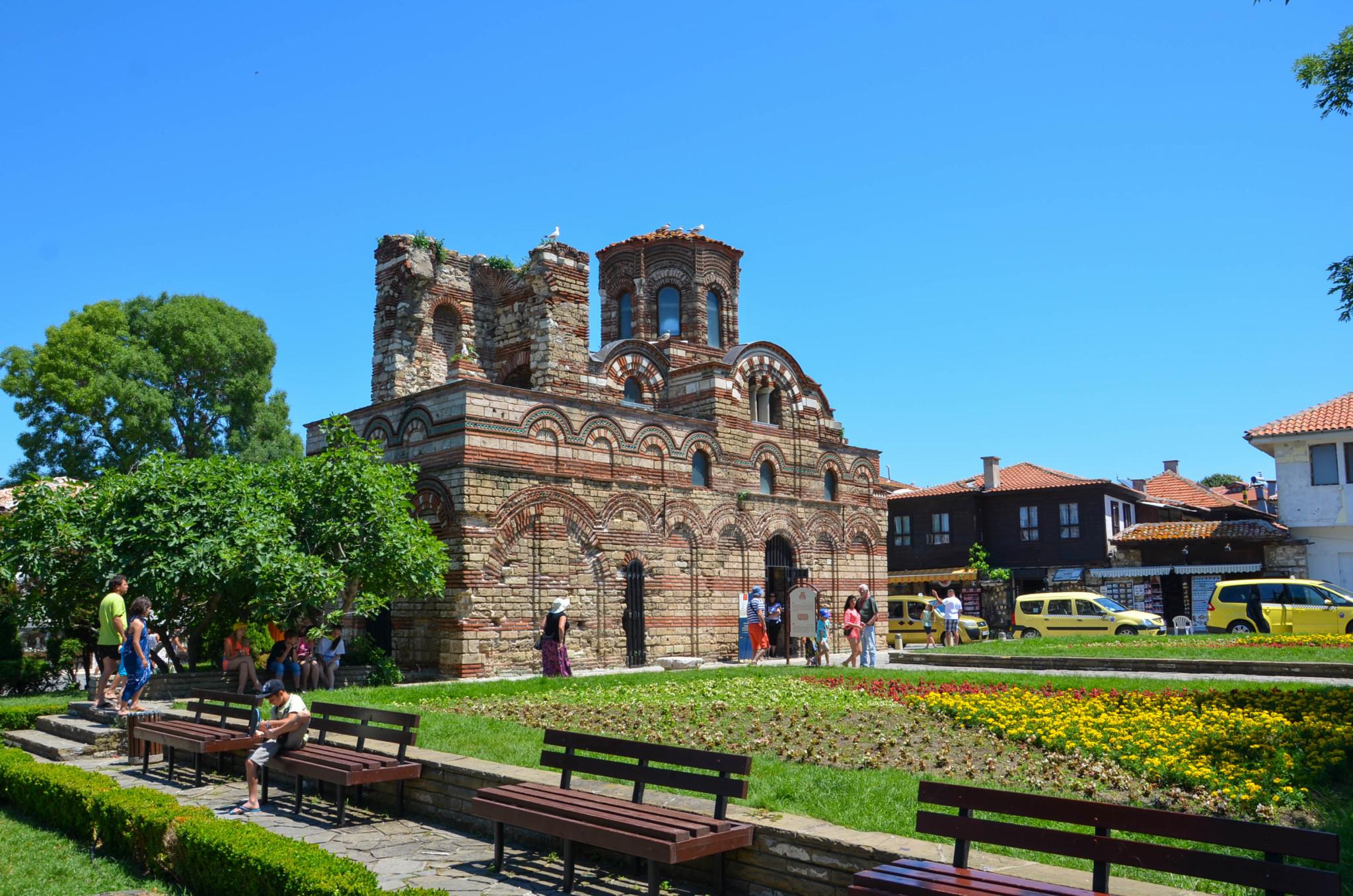 Berühmte Pantocrator Kirche in Nessebar