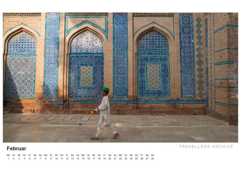 Pakistan Kalender 2021 Februar