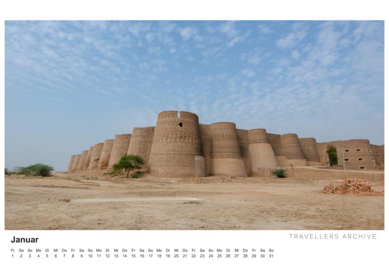 Pakistan Kalender 2021 Januar