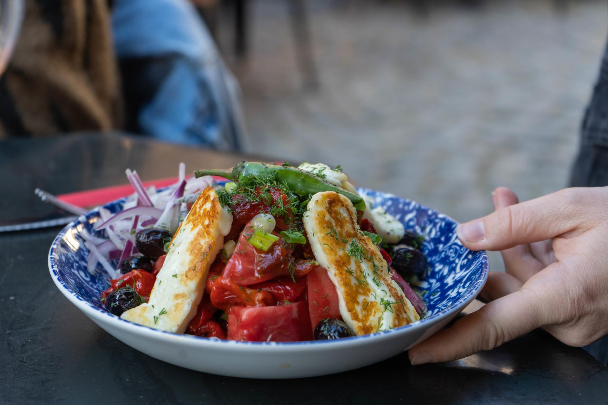 Schopska Salat Bulgarien
