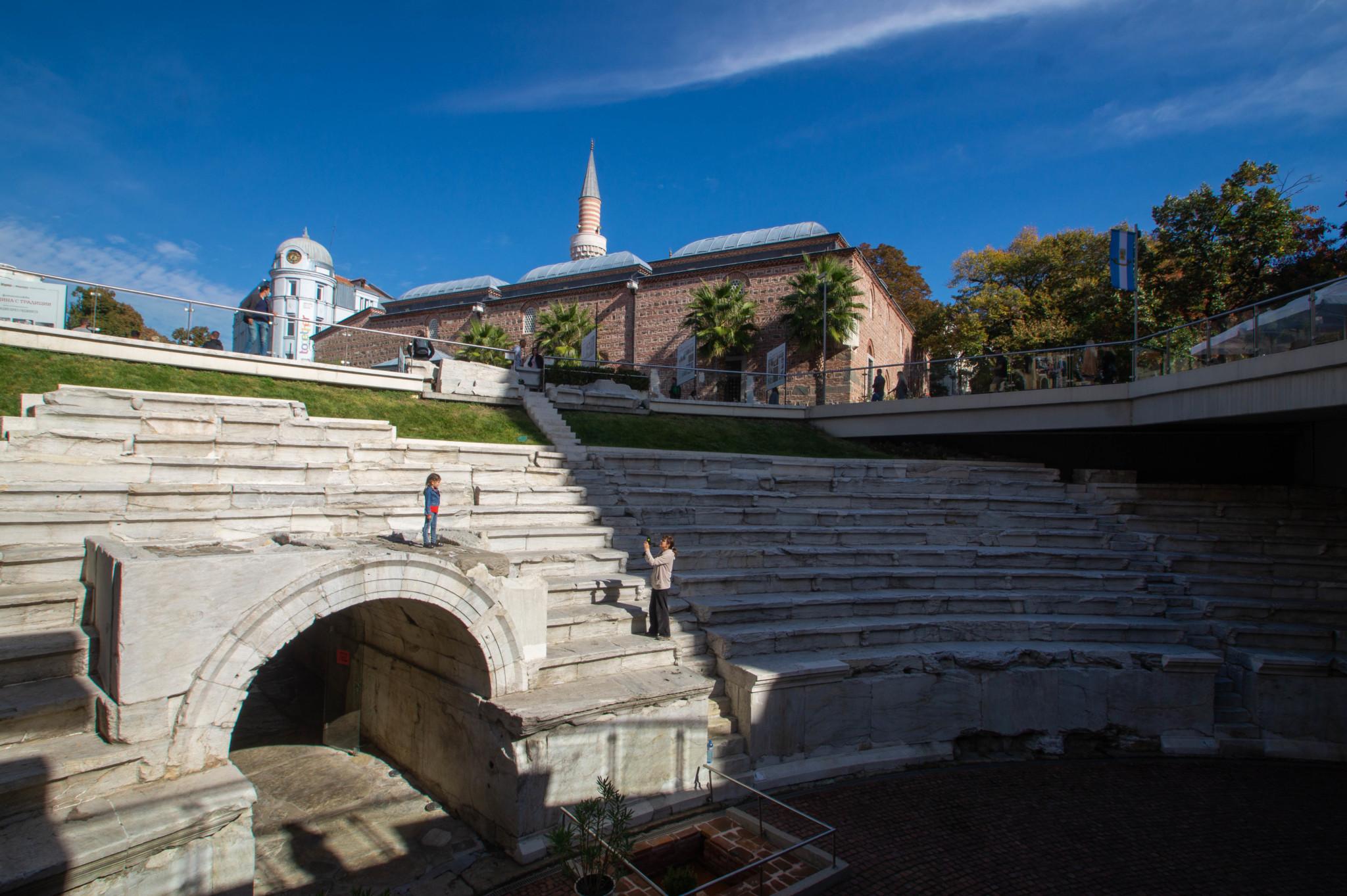 Antikes Theater von Plovdiv