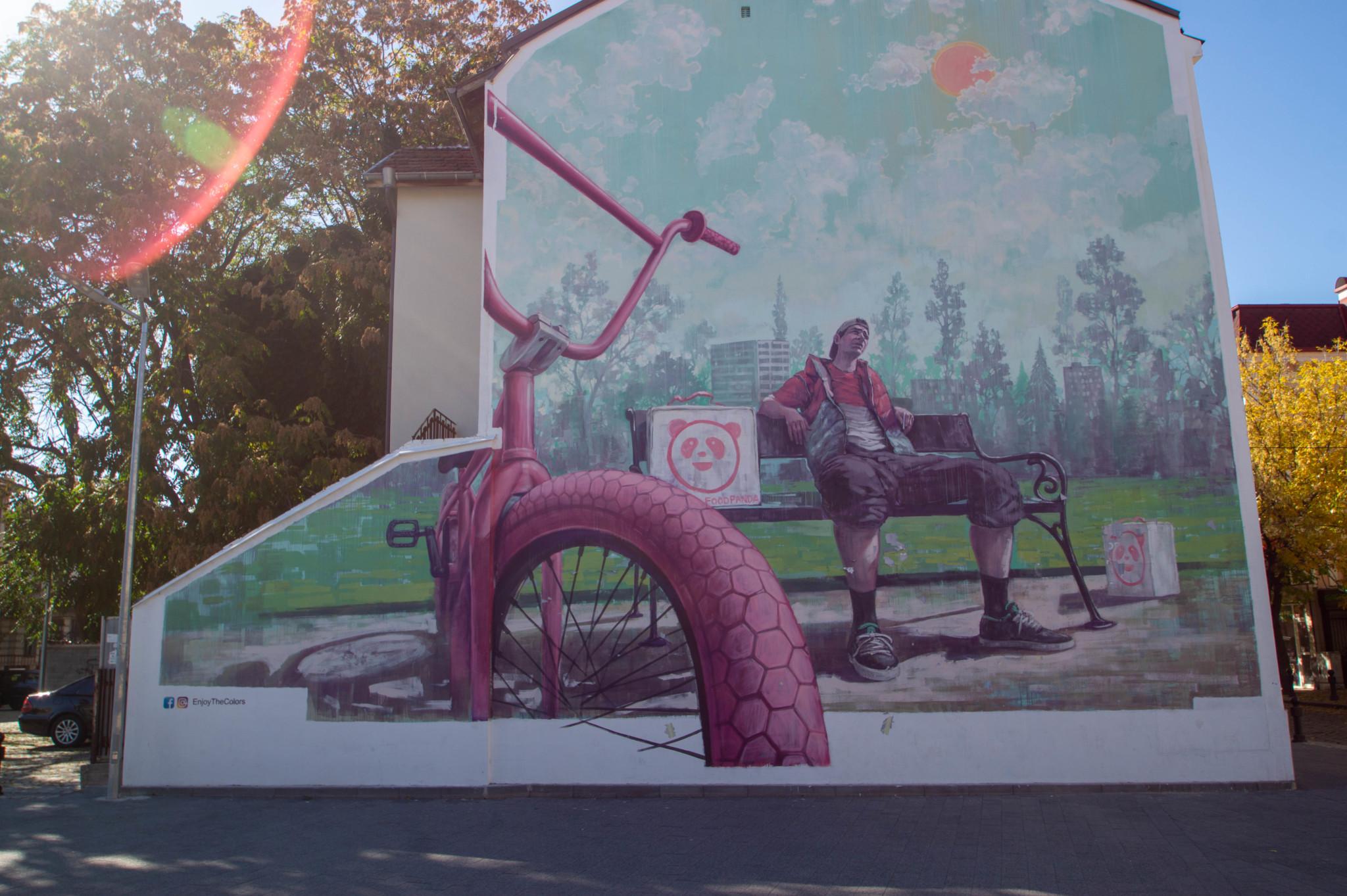 Streetart in Plovdiv