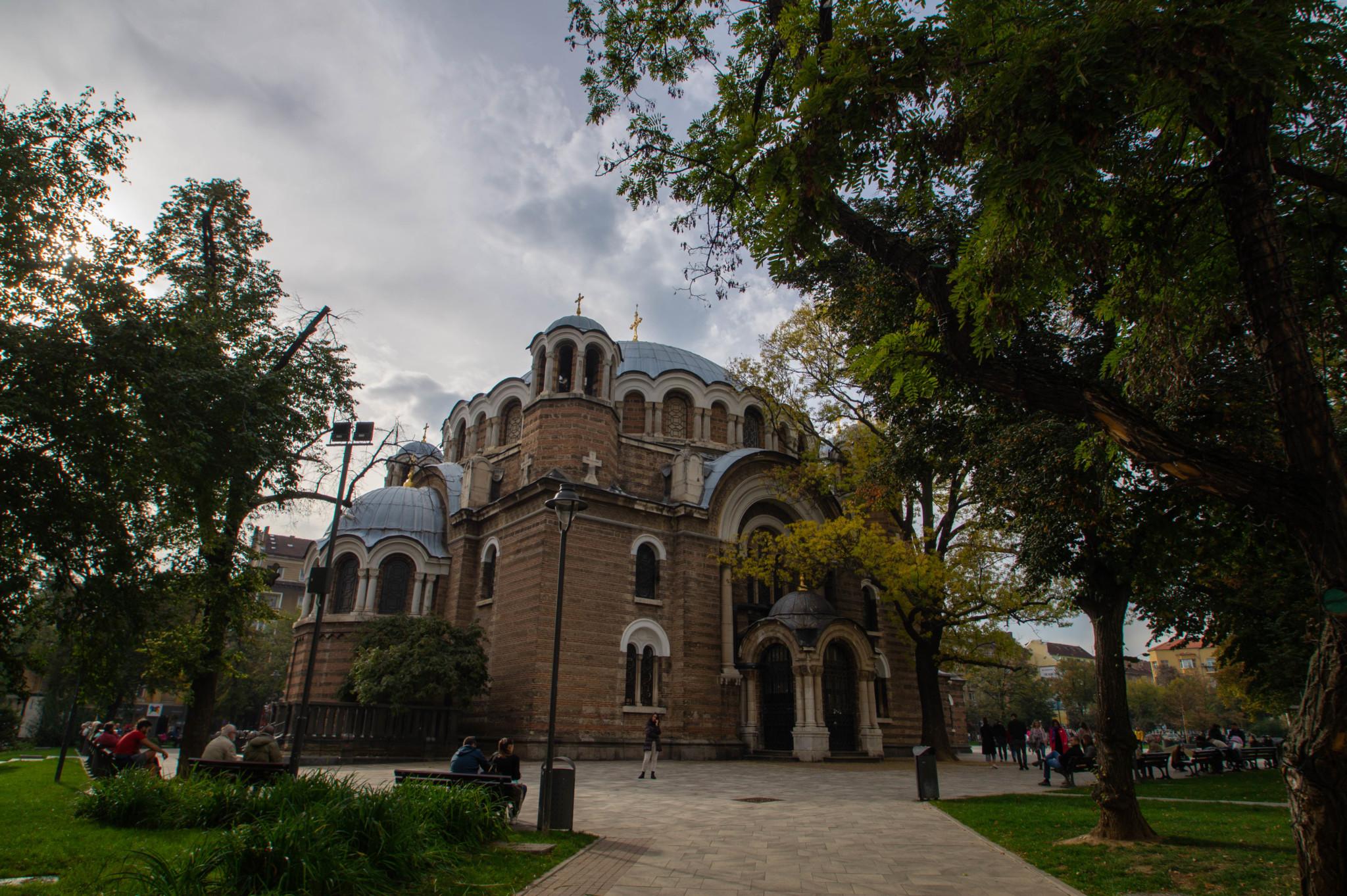 St. Sedmochislenitsi Kirche in Sofia