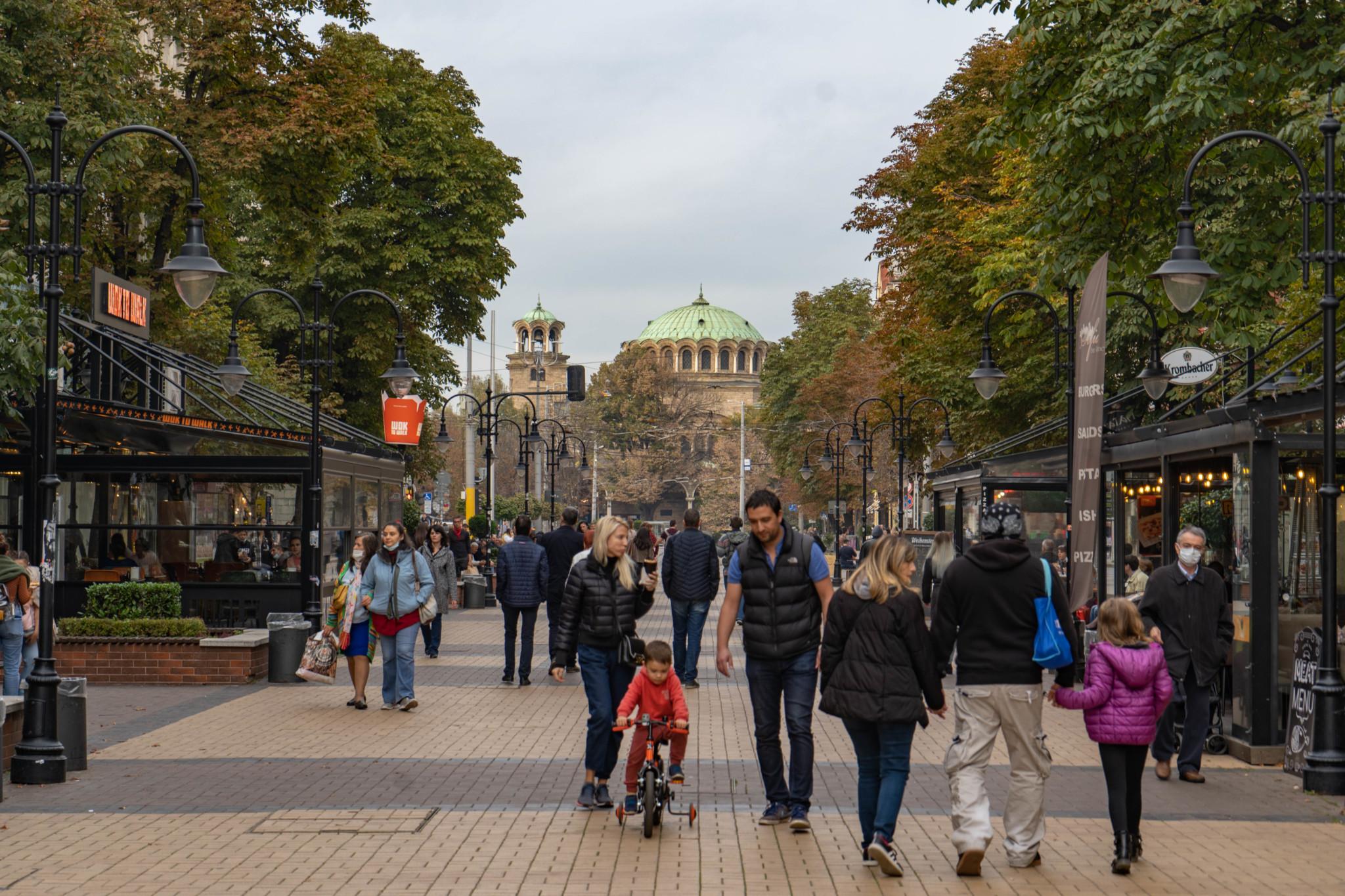 Sofias berühmter Vitosha Boulevard