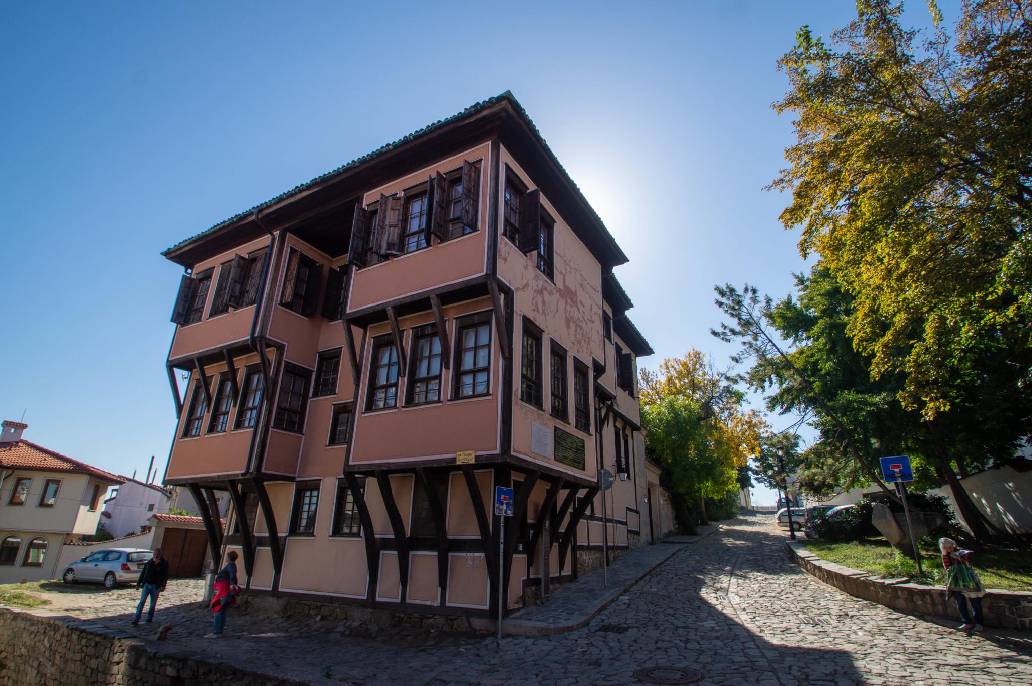 Berühmte Wiedergeburtshäuser in Plovdiv