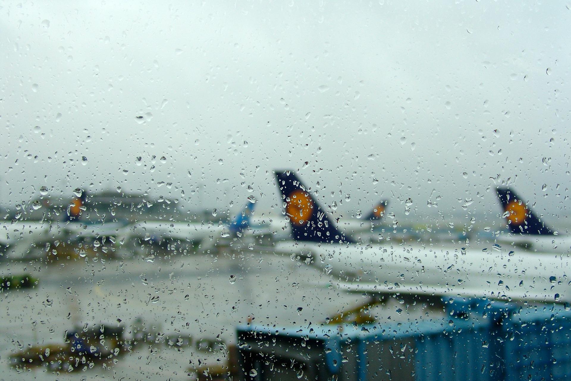 Flugzeuge am Flughafen Berlin