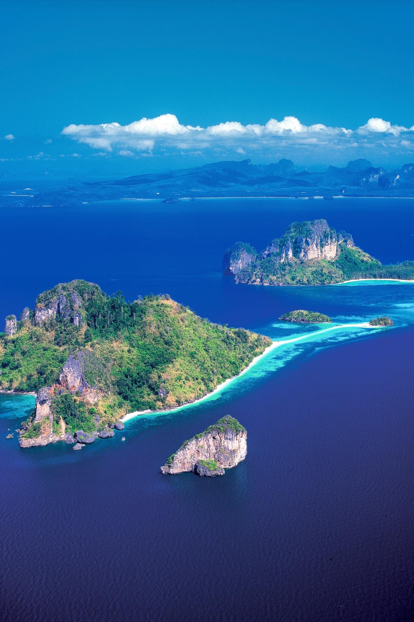 Inseln vor Krabi