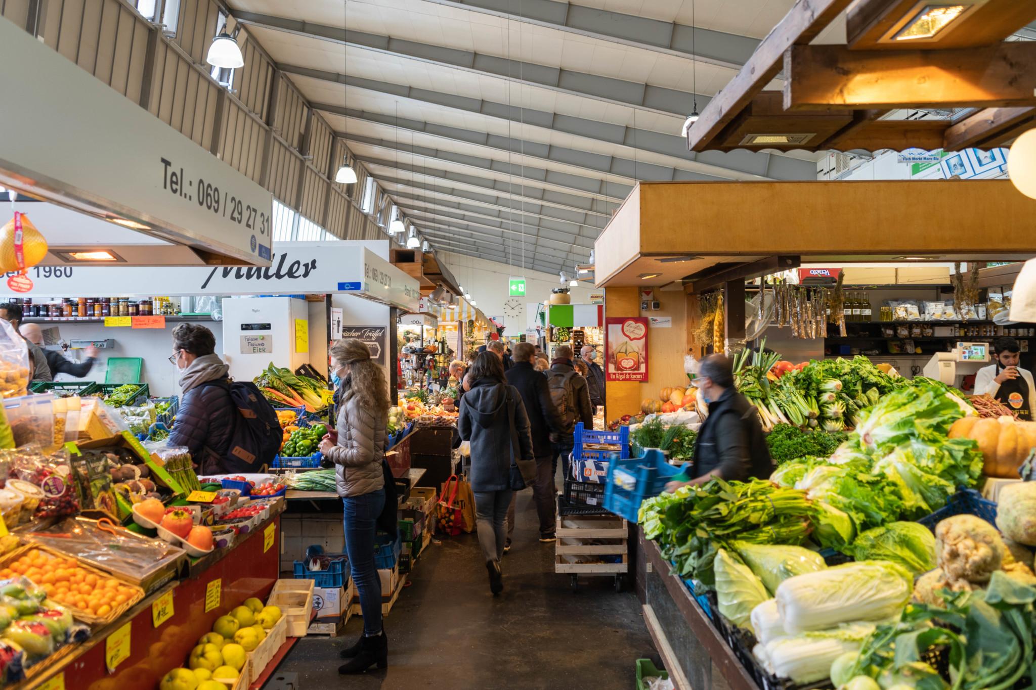 Obst und Gemüse Kleinmarkthalle