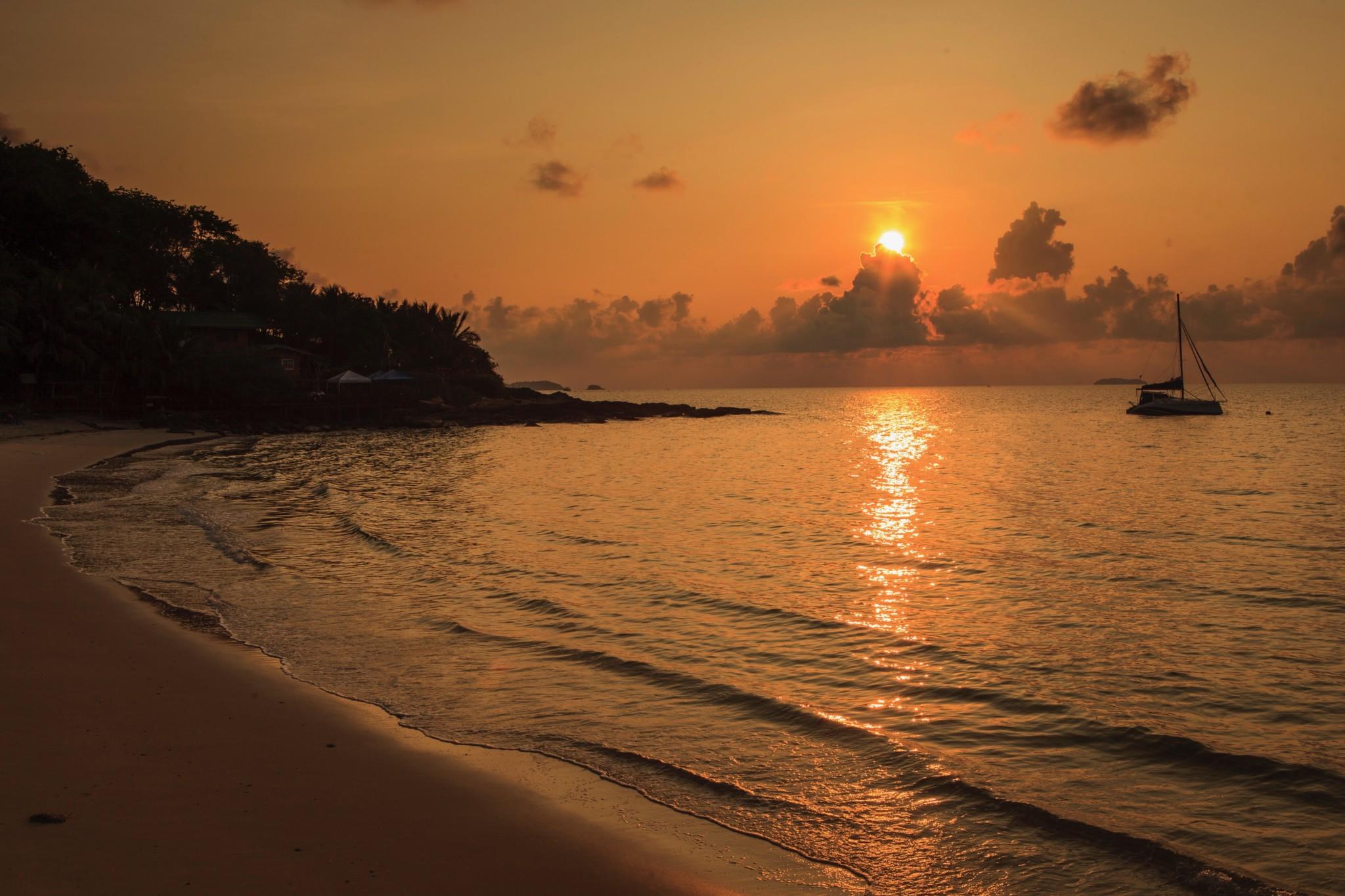 Sonnenuntergang in Koh Samet