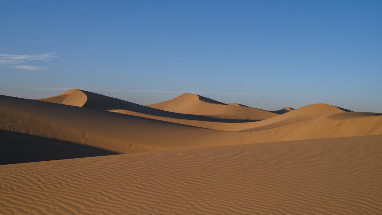 Wüste Varzaneh im Iran