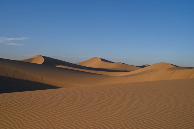 Die Varzaneh Wüste im Iran: Wahrgewordene Wüstenträume