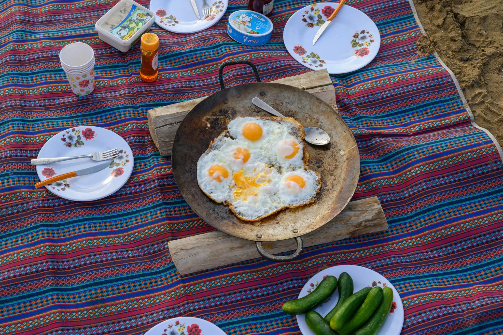 Frühstück Varzaneh
