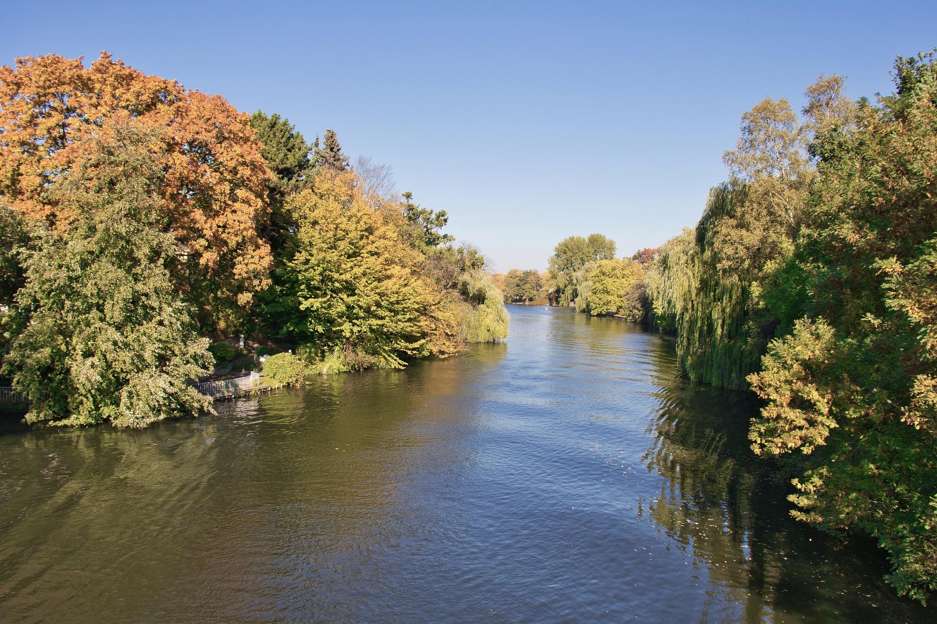 Die Alster in Hamburg ist beliebtes Hamburg Reiseziel