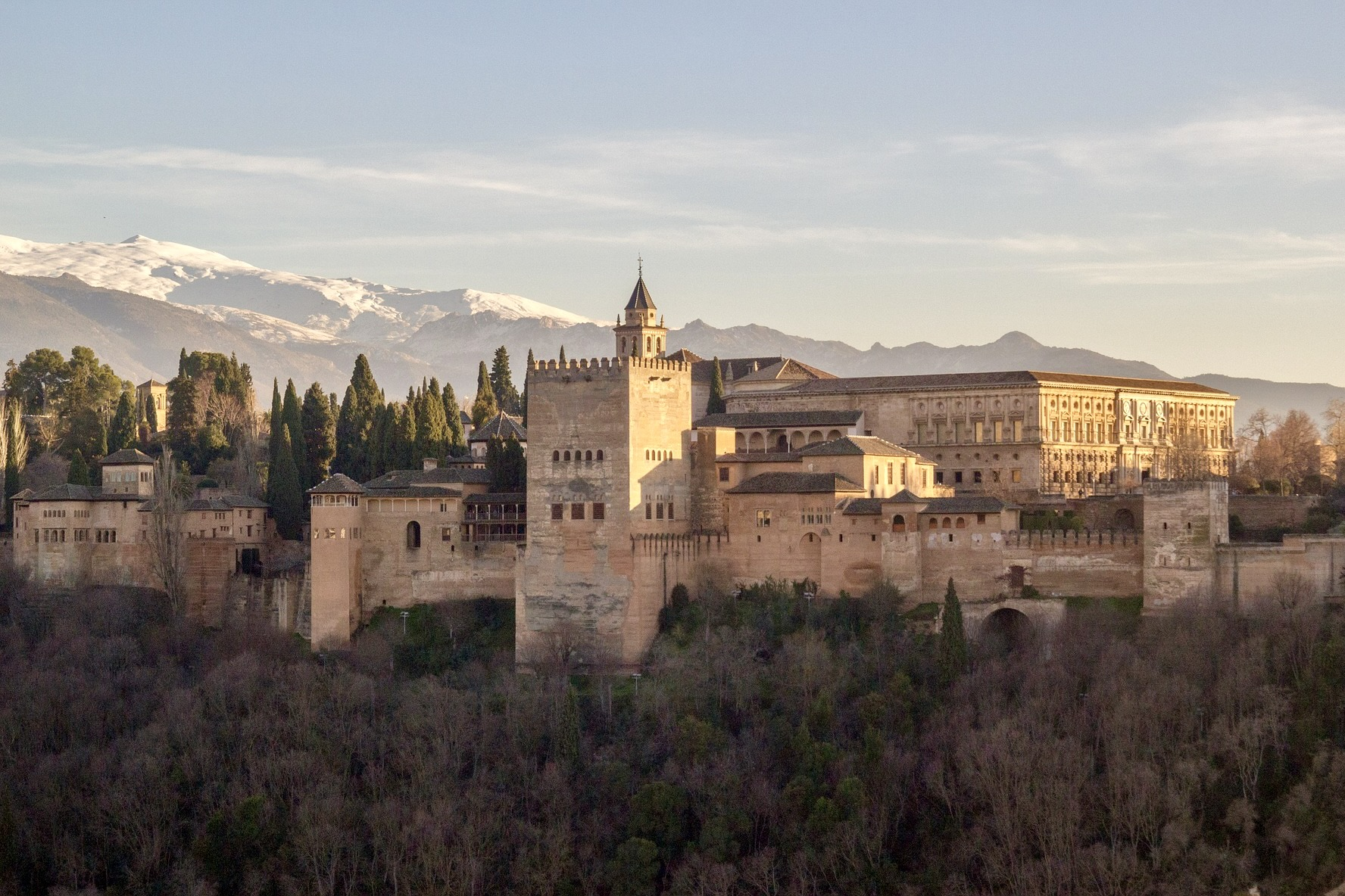 Alhambra in Andalusien