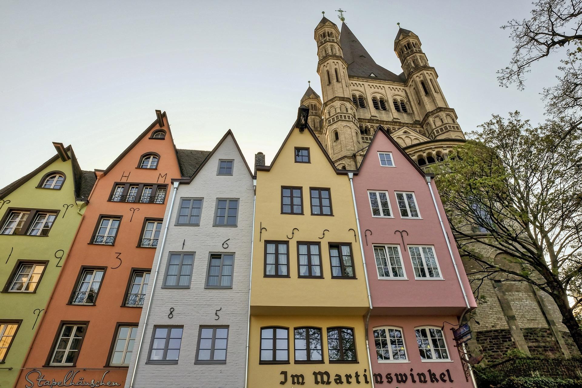 Architektur am Alter Markt in Köln