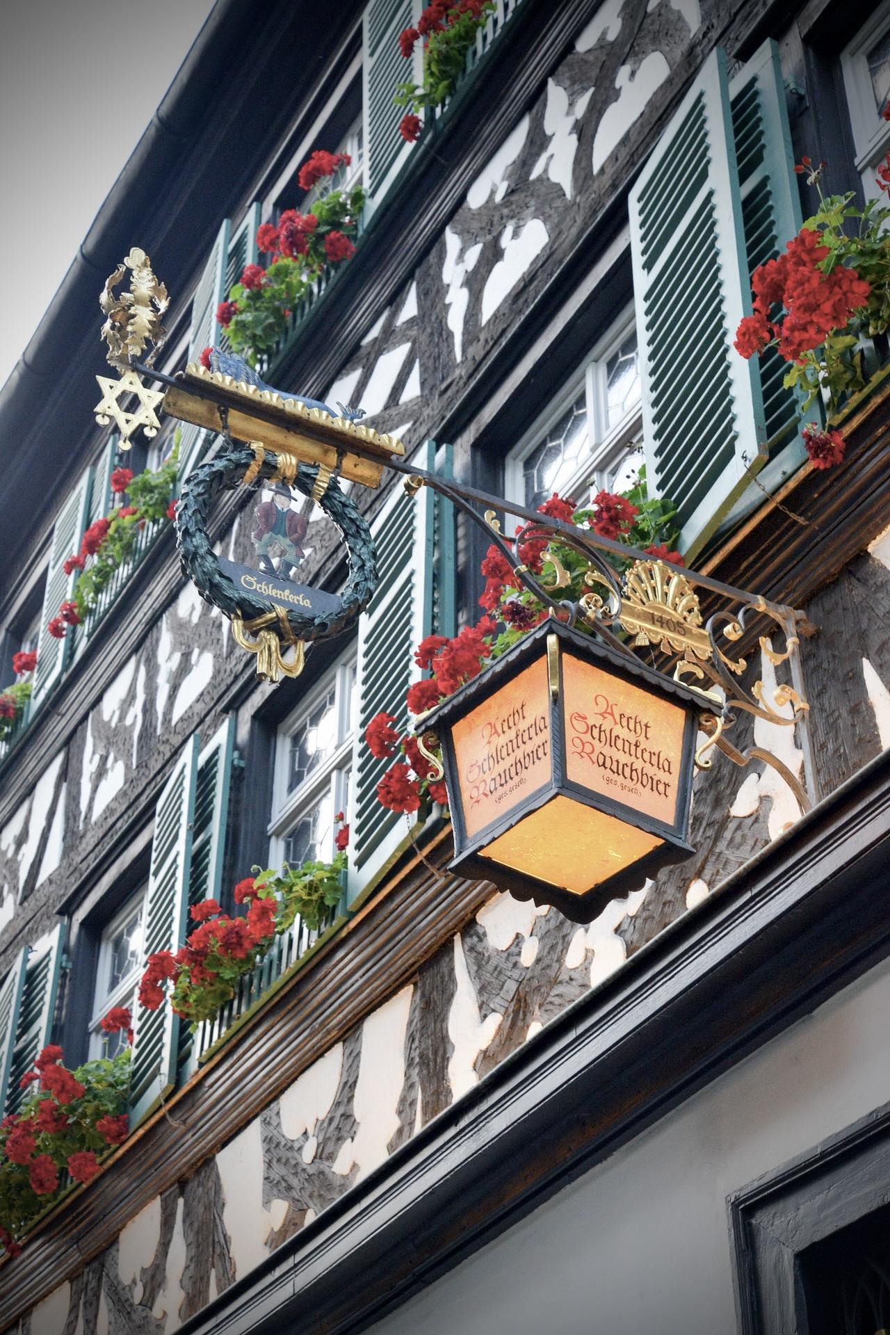 Fachwerkhaus in Bamberg in Franken