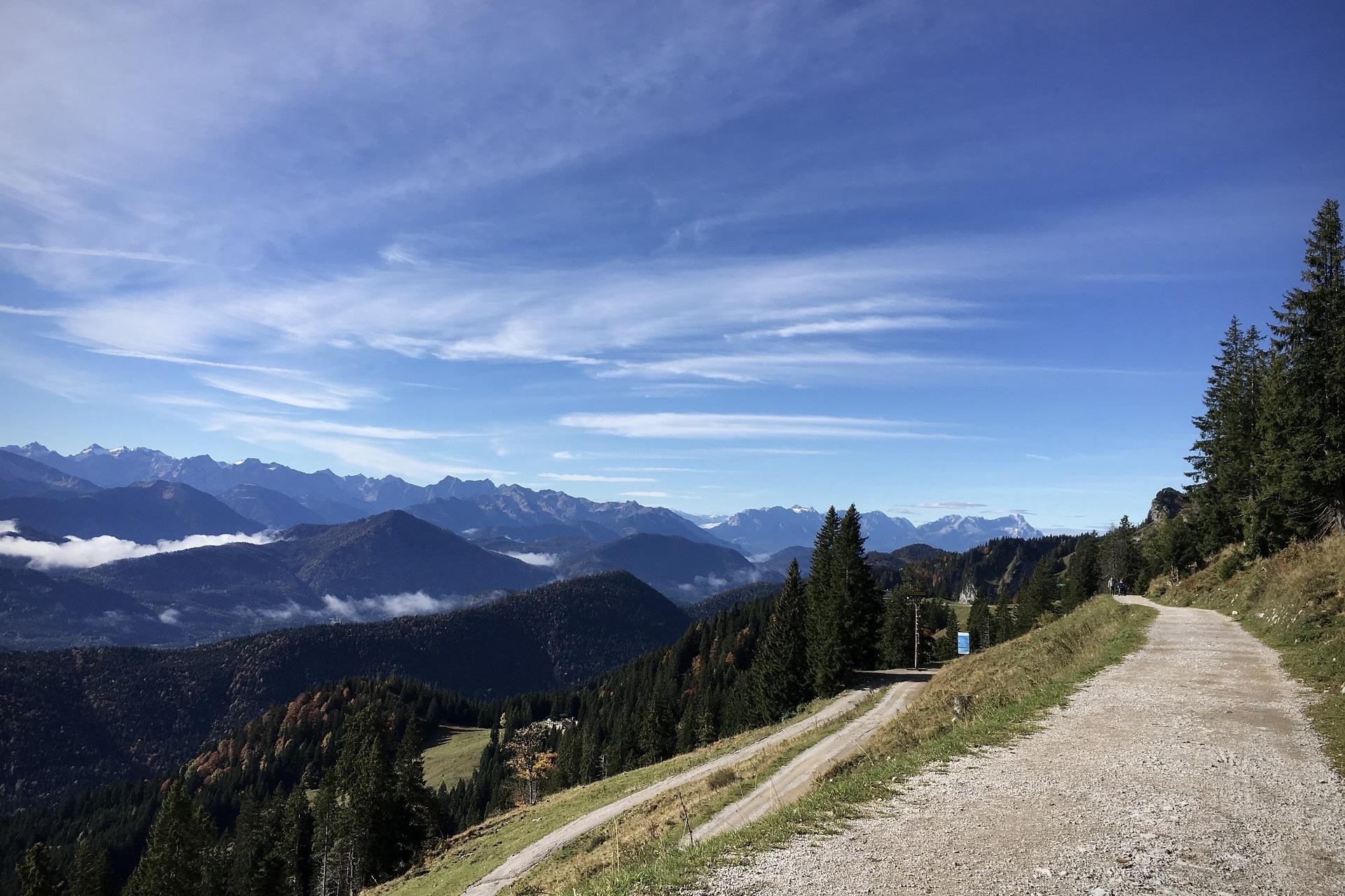 Ein Ausflug zum Wandern ins Tölzer Land in Bayern