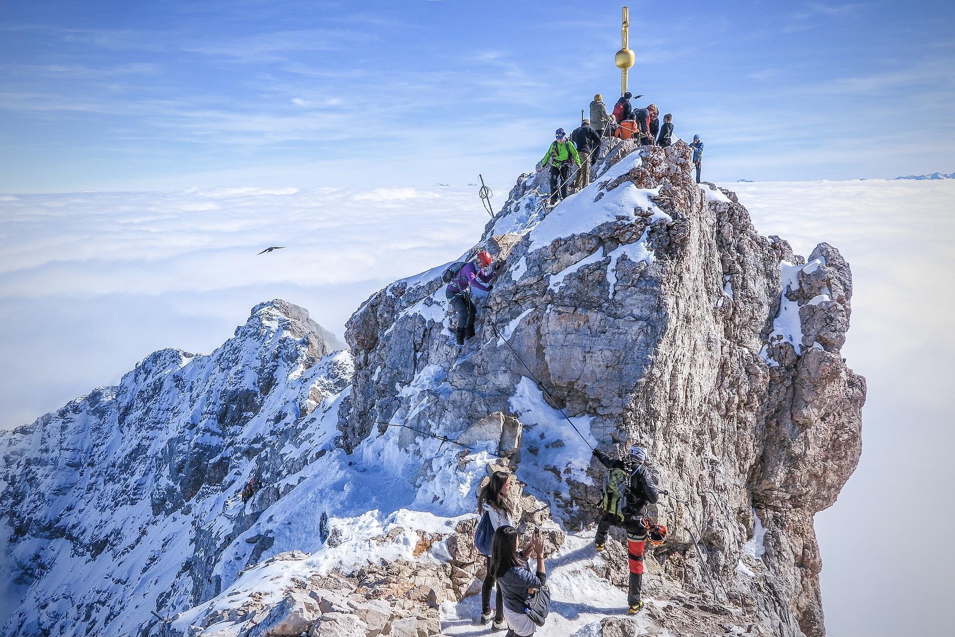 Ausflugsziele Bayern: Die Zugspitze gehört zu den beliebtesten Ausflügen