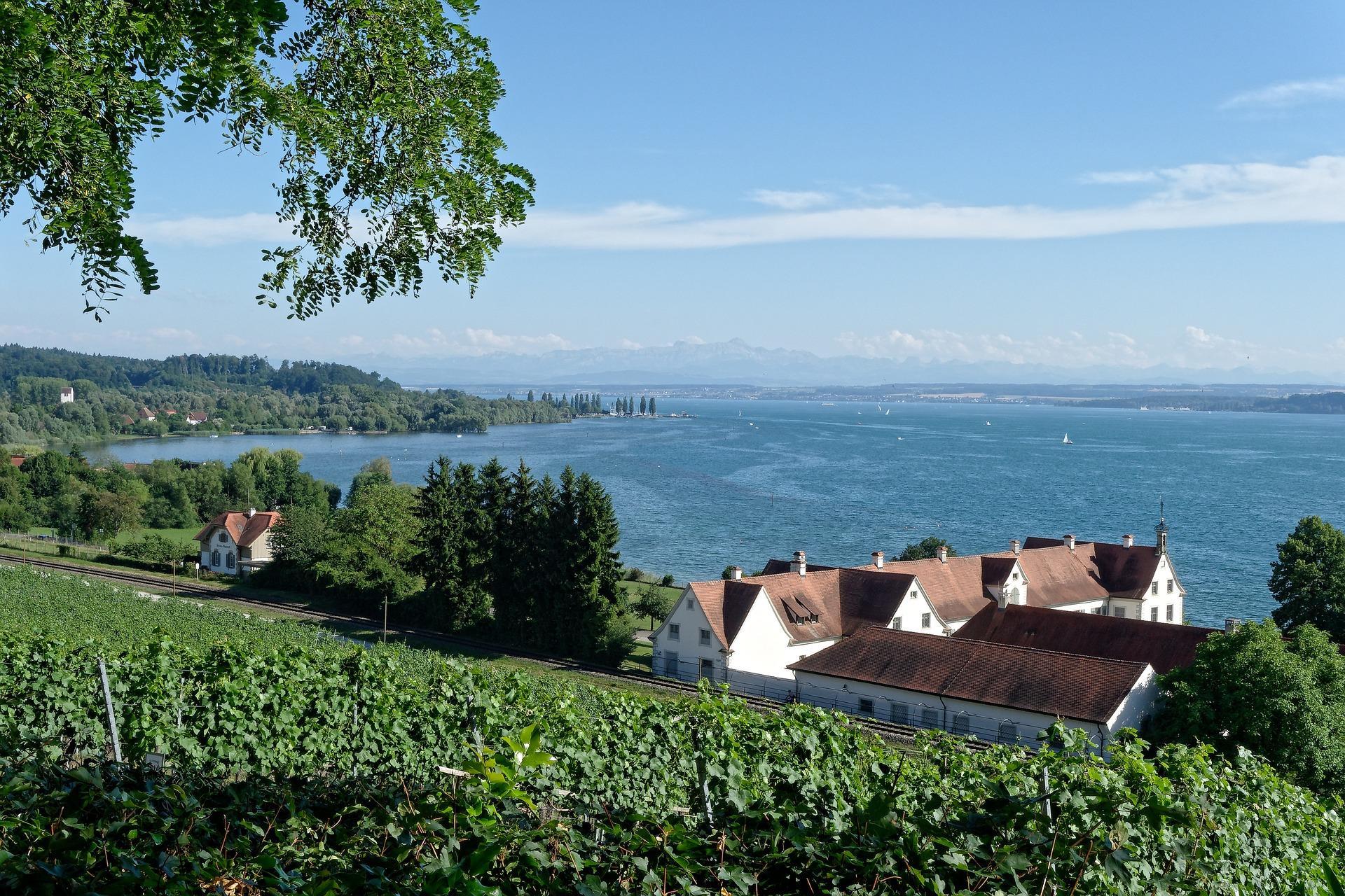 Bodensee gehört zu den Reisezielen in Süddeutschland