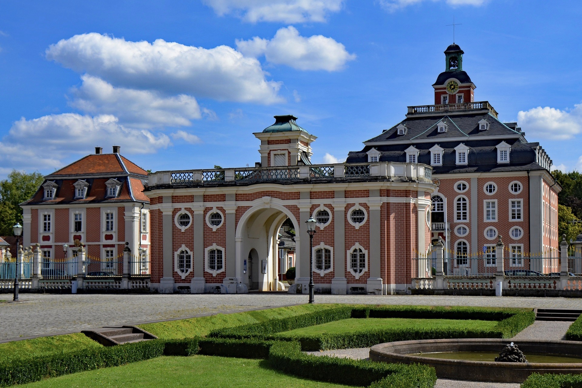 Schloss Bruchsal kann man auf dem Deutschland Roadtrip besuchen