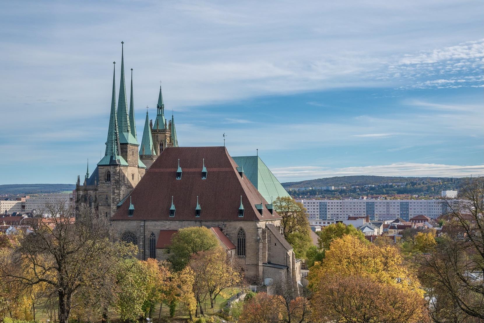 Erfurt in Thüringen gilt als schönes Reiseziel