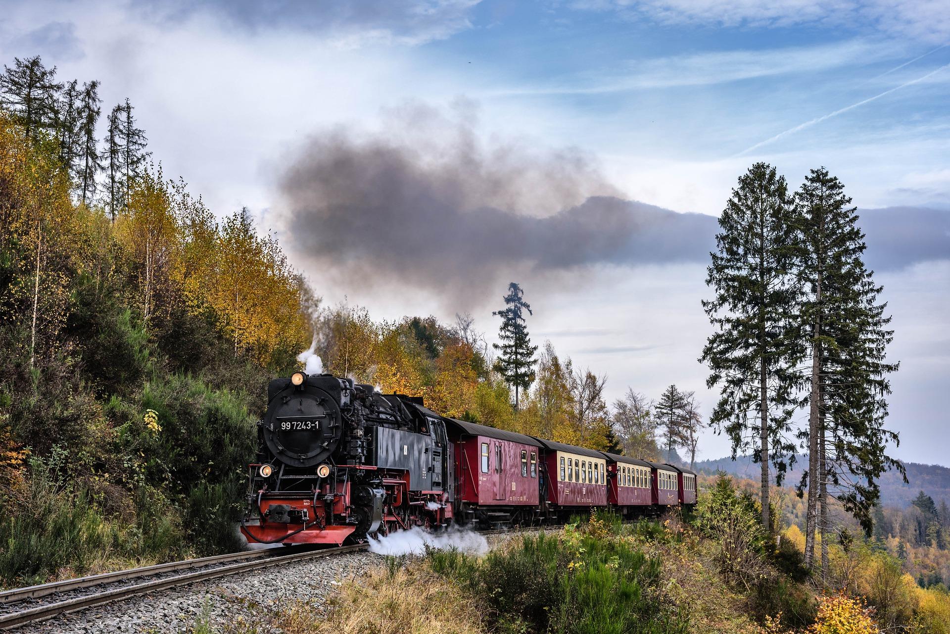 Dampfeisenbahn im Harz