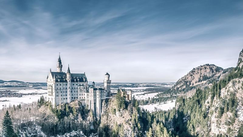 Zu den schönsten Deutschland Sehenswürdigkeiten gehört Schloss Neuschwanstein