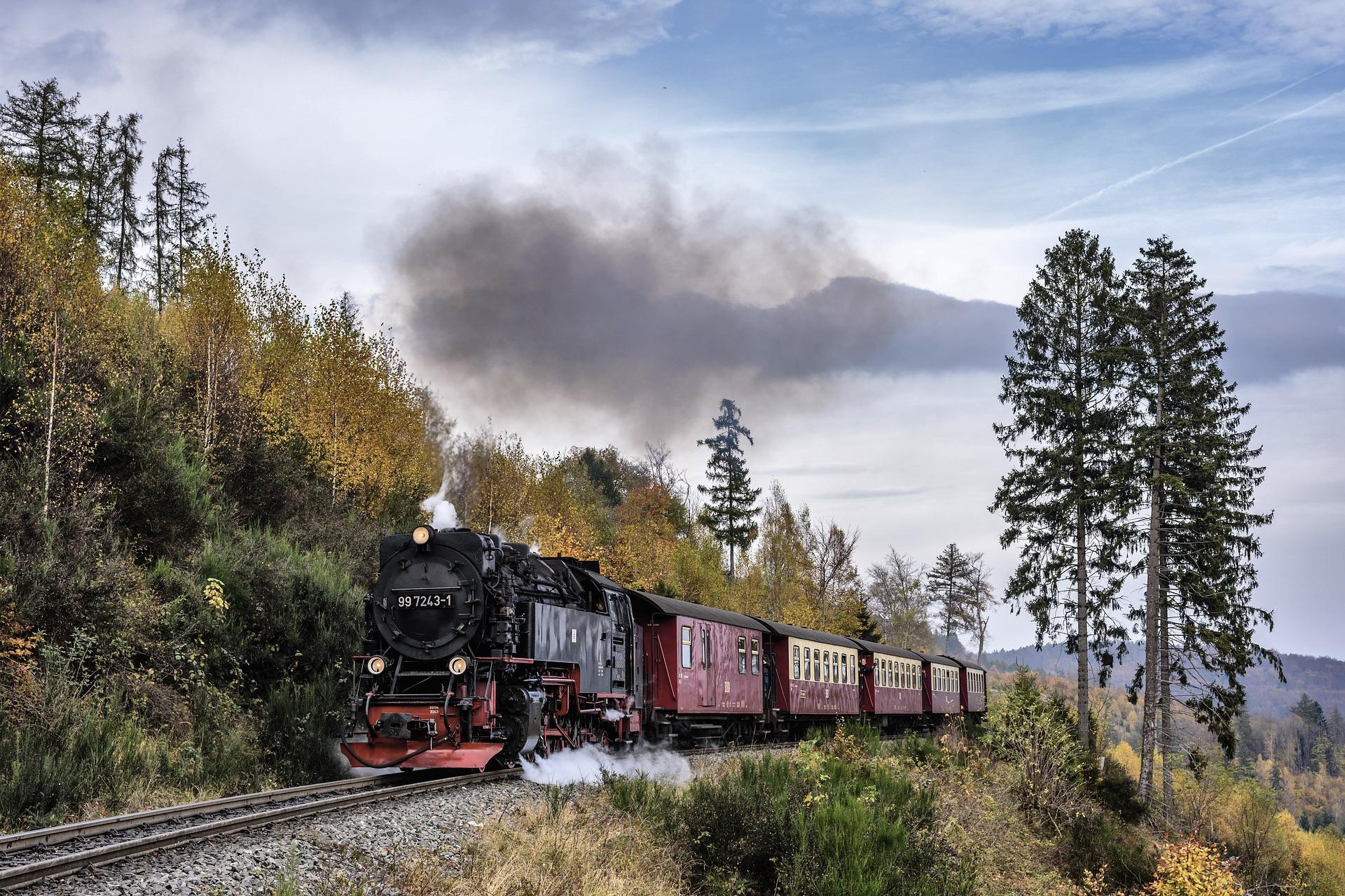 Ein Ausflug mit der Brockenbahn ist ein Highlight im Harz