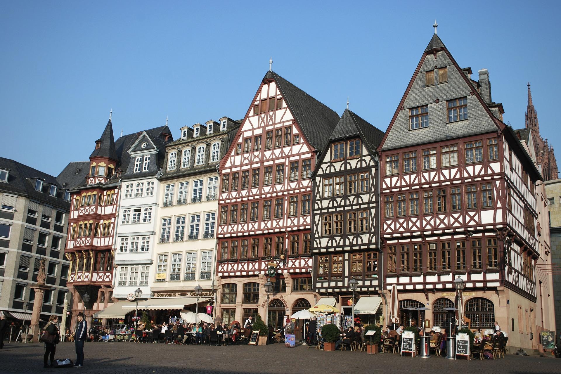 Frankfurt Römer und Römerberg gehören zu den besten Deutschland Sehenswürdigkeiten
