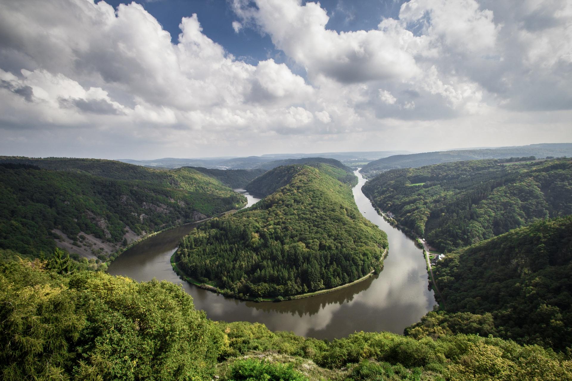 Die Saarschleife ist ein echtes Natur-Highlight im Saarland