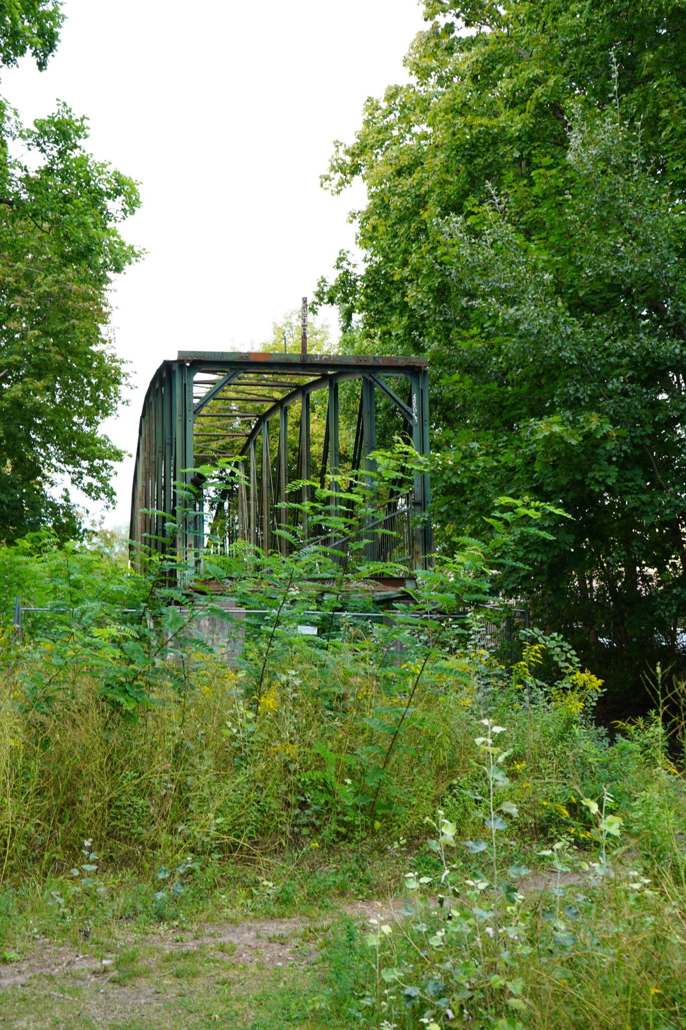 Verlassene Brücke in Erkner