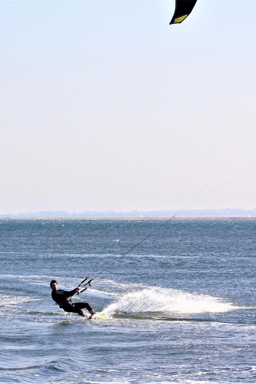 Für Kitesurfer ist Fehmarn ein Paradies
