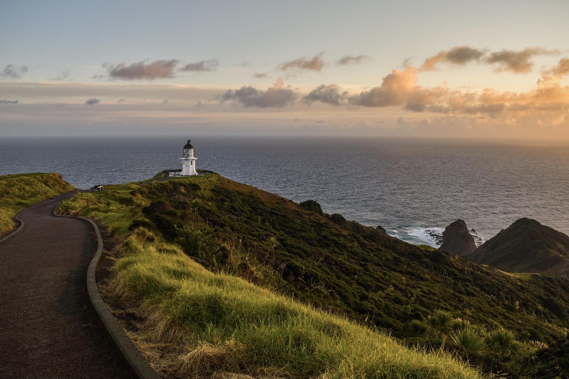 Der europäische Winter ist die beste Reisezeit für Neuseeland
