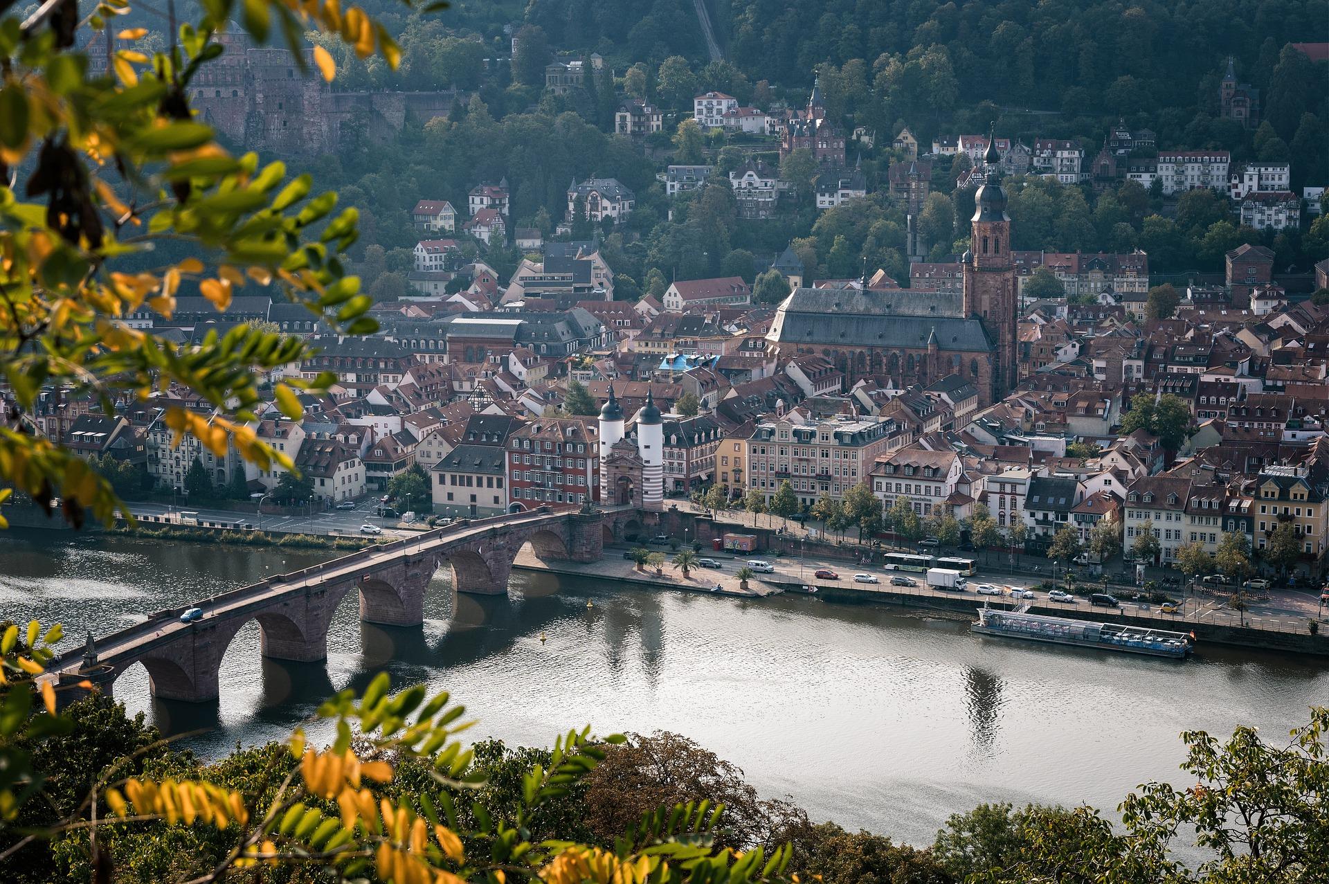 Urlaub in Süddeutschland führt an Heidelberg nicht vorbei