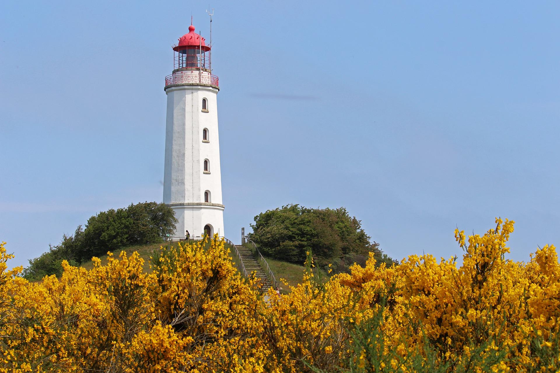 Hiddensee ist eine der kleineren Ostseeinseln