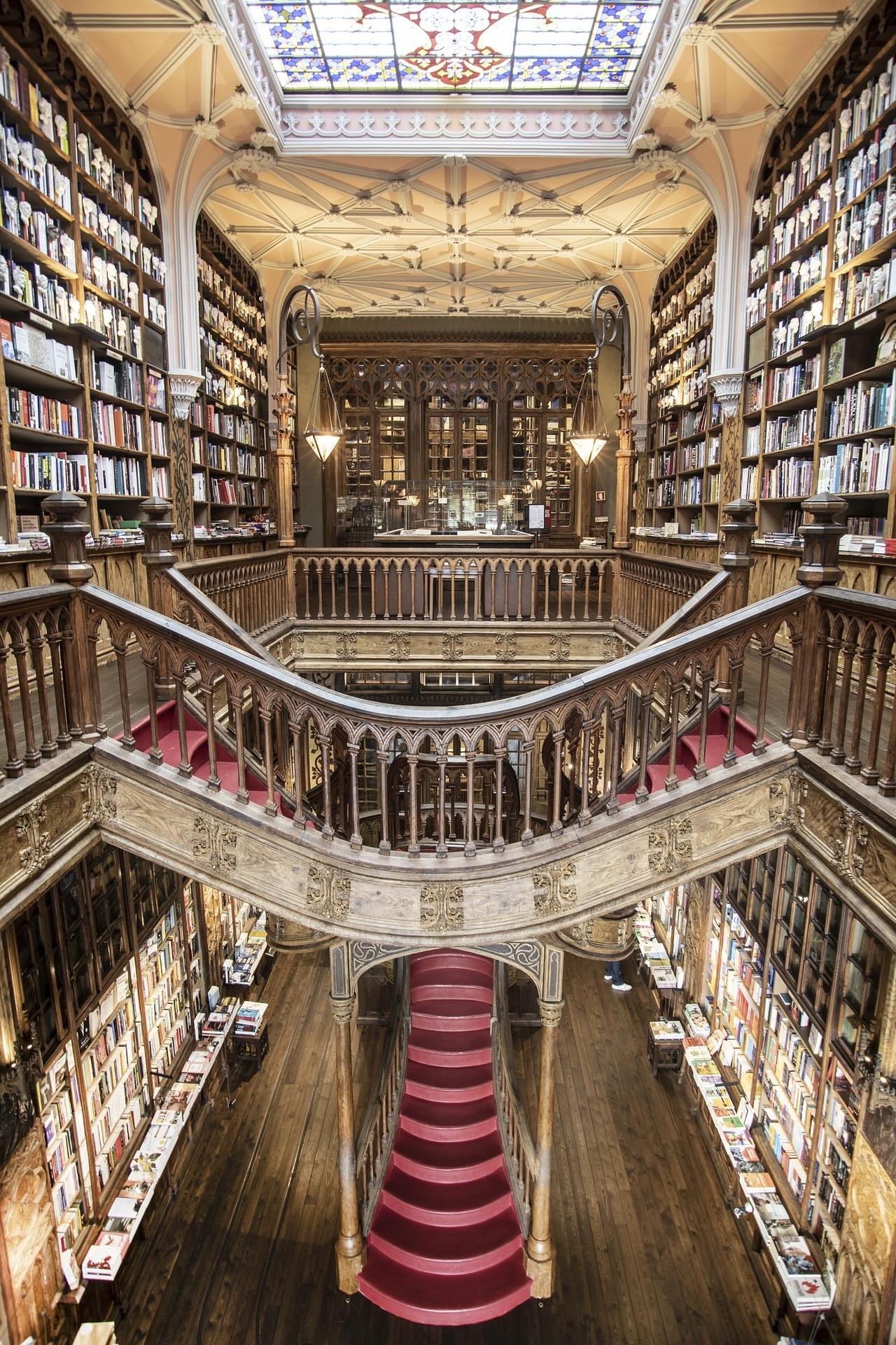 Porto Sehenswürdigkeiten Livraria Lello