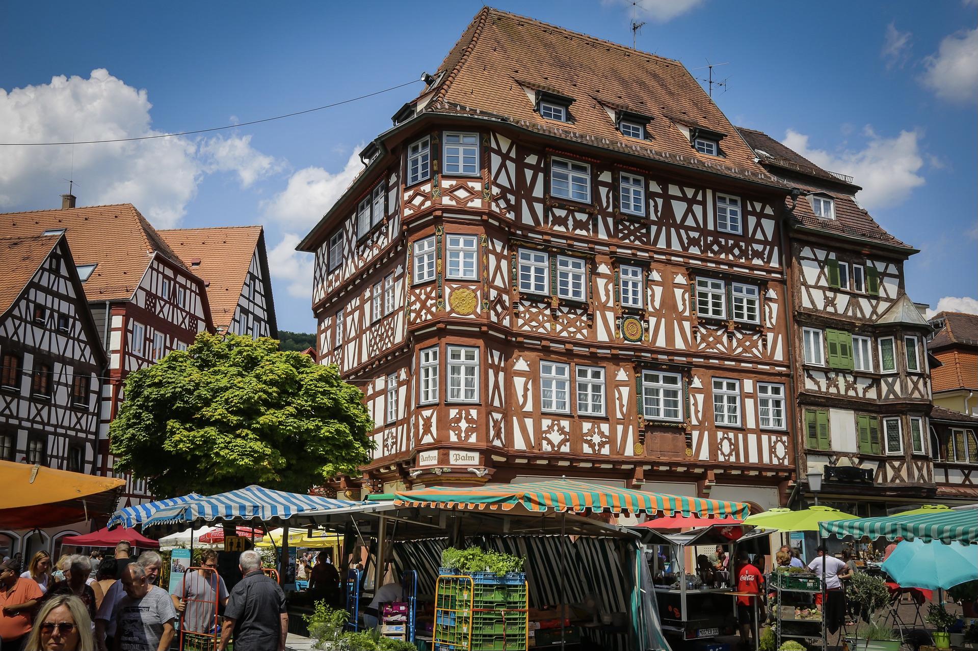 Mosbach ist ein toller Ausflug auf der deutschen Burgenstraße