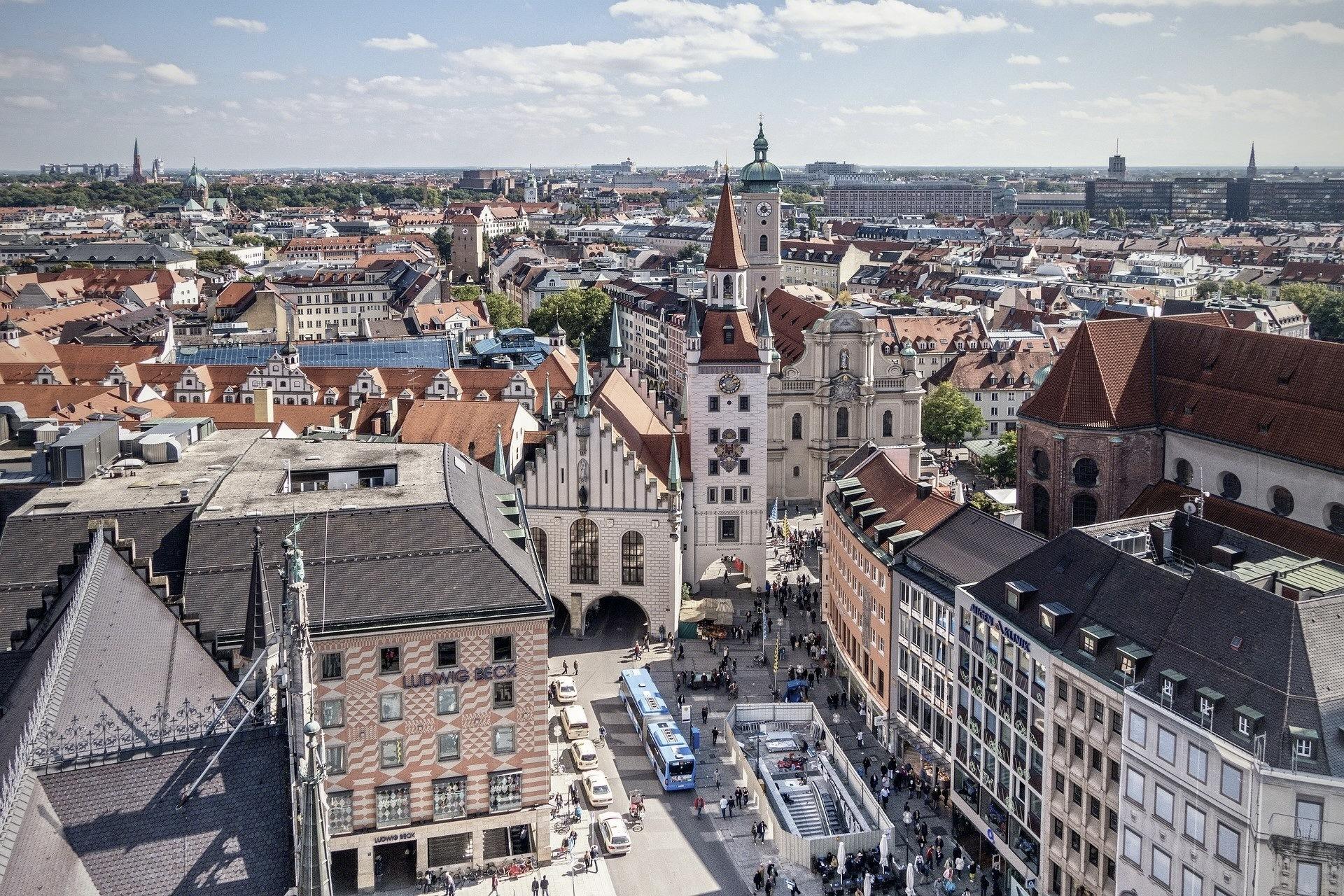 Eine der schönsten Ausflugsziele Bayerns ist München