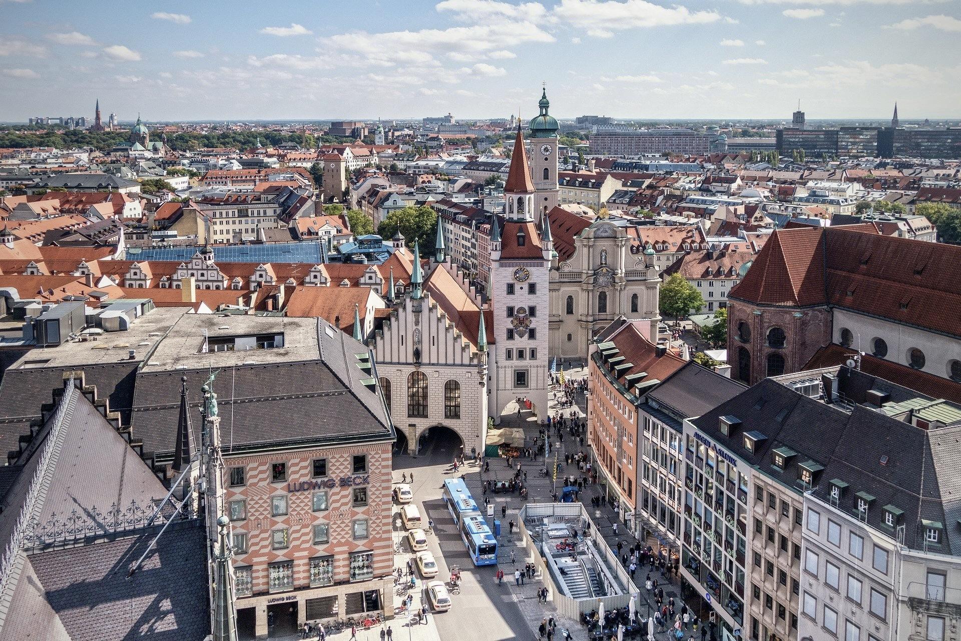München in Bayern ist eine sehenswerte Stadt im Süden Deutschlands