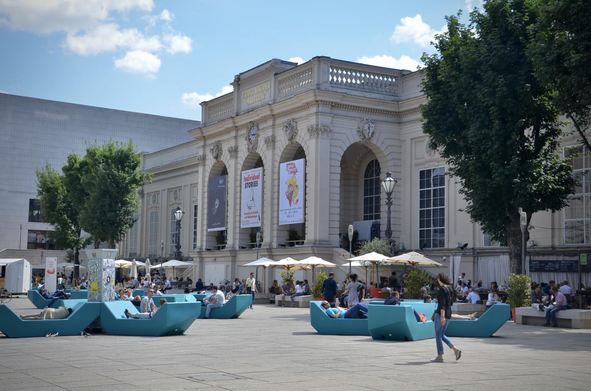 Die Museen im Museumsquartier zählen zu den besten in Europa