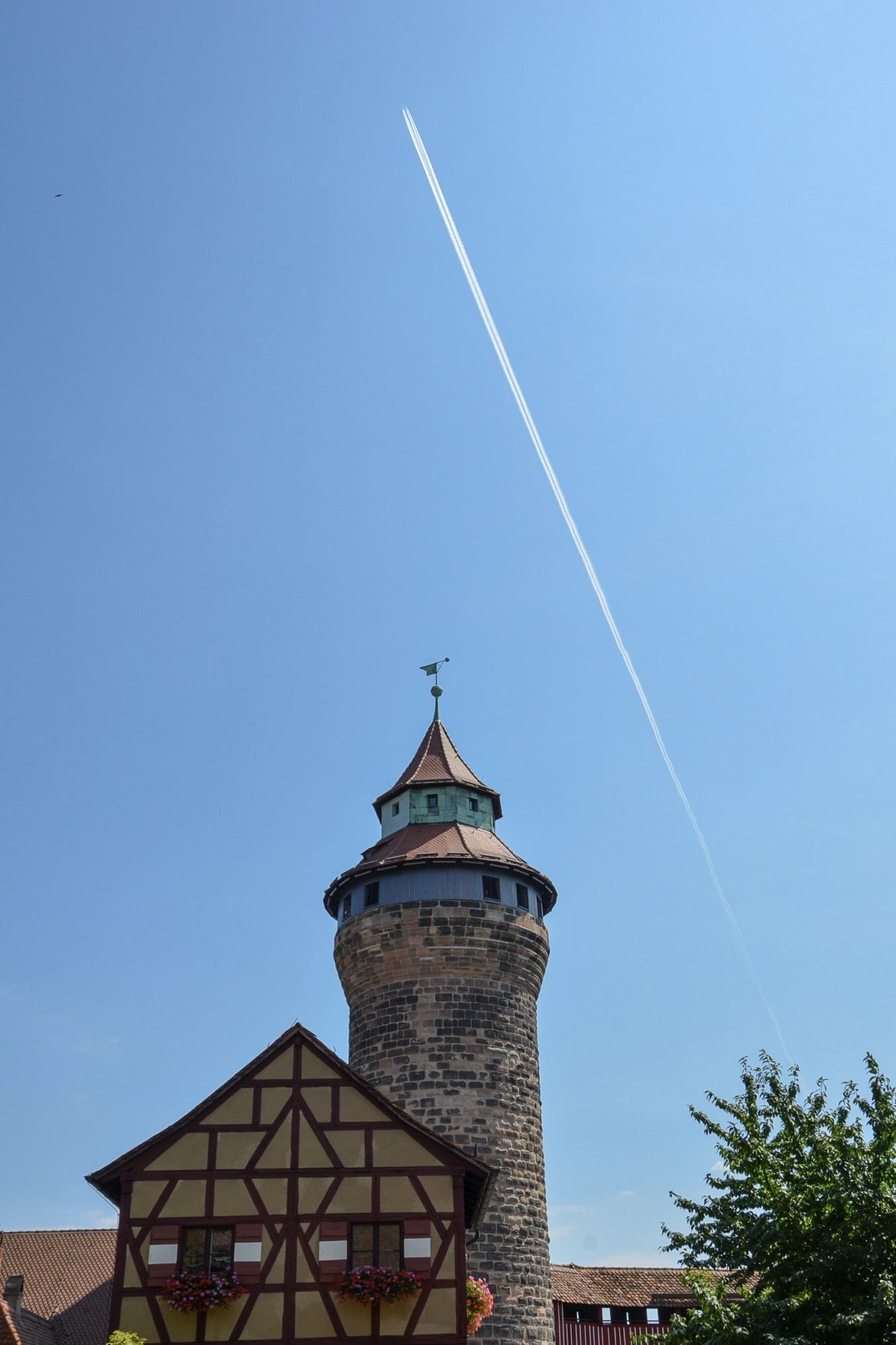 Ausflugsziele Bayern: Die Kaiserburg in Nürnberg ist ein beliebtes Reiseziel am Wochenende
