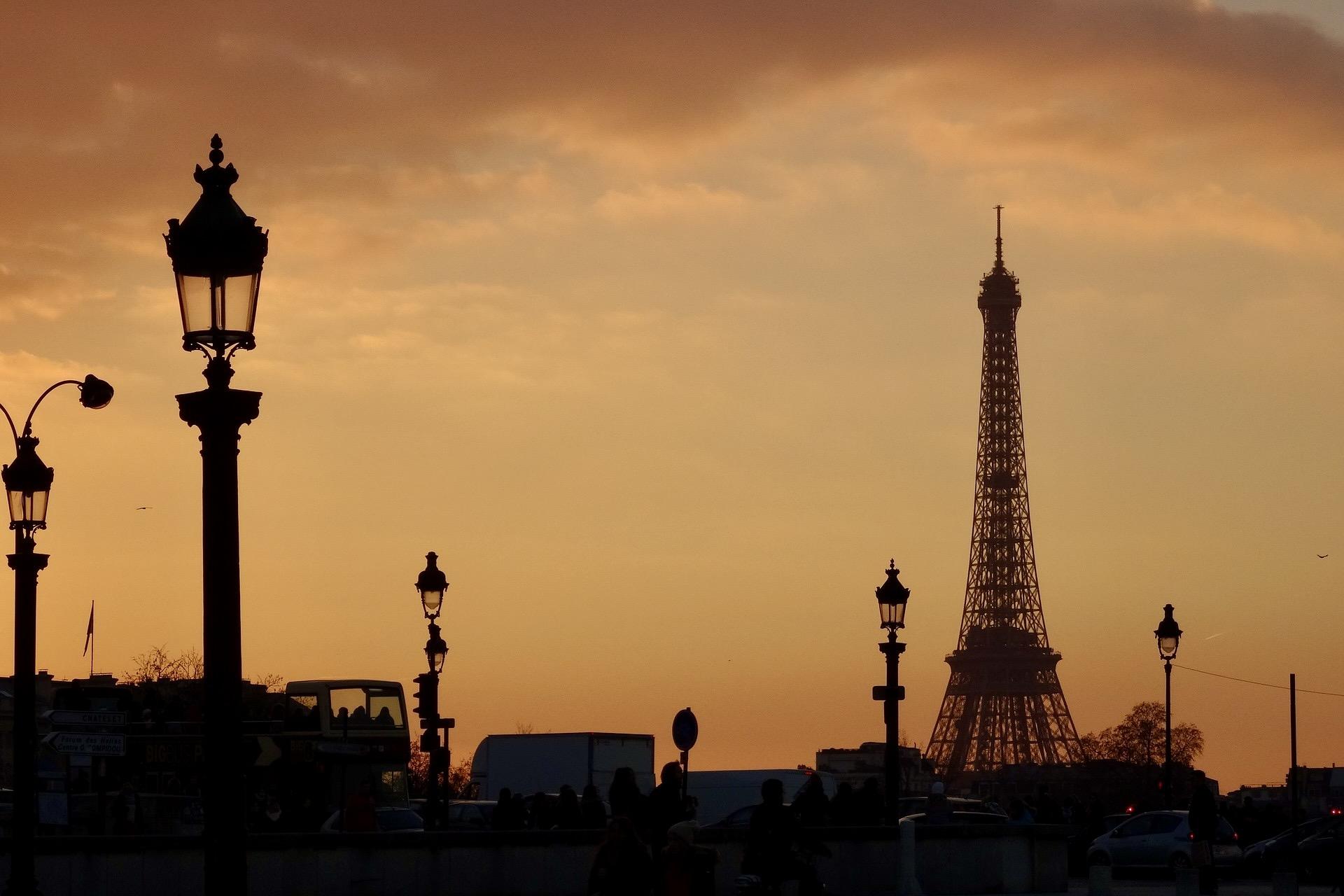 Reiseziele im Februar? Definitiv Paris zum Valentinstag.