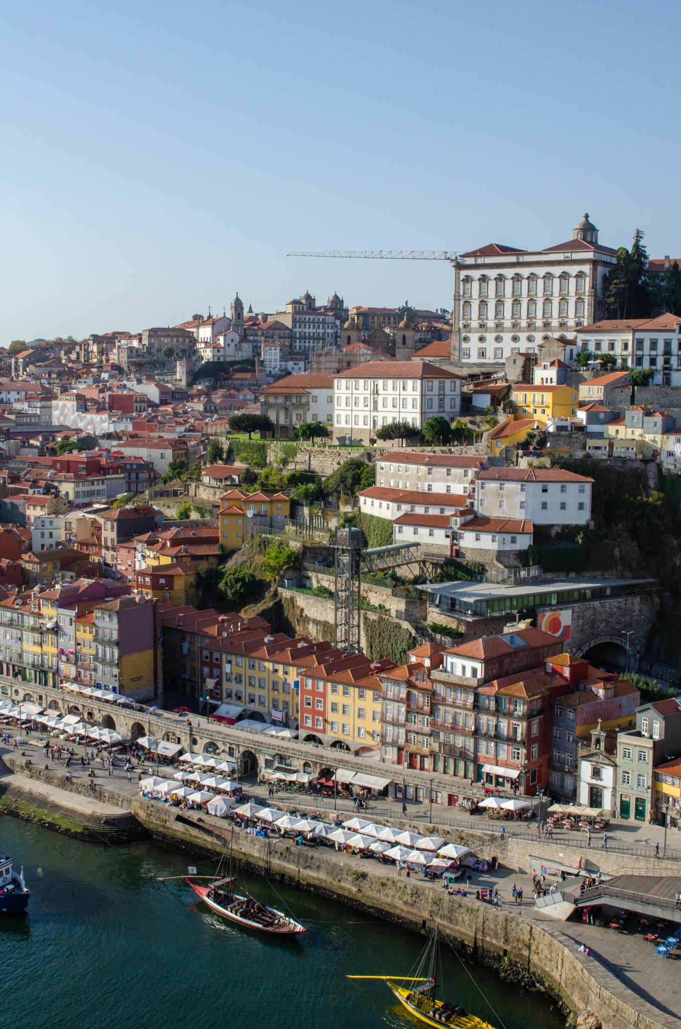 Ausblick auf die Porto Sehenswürdigkeiten