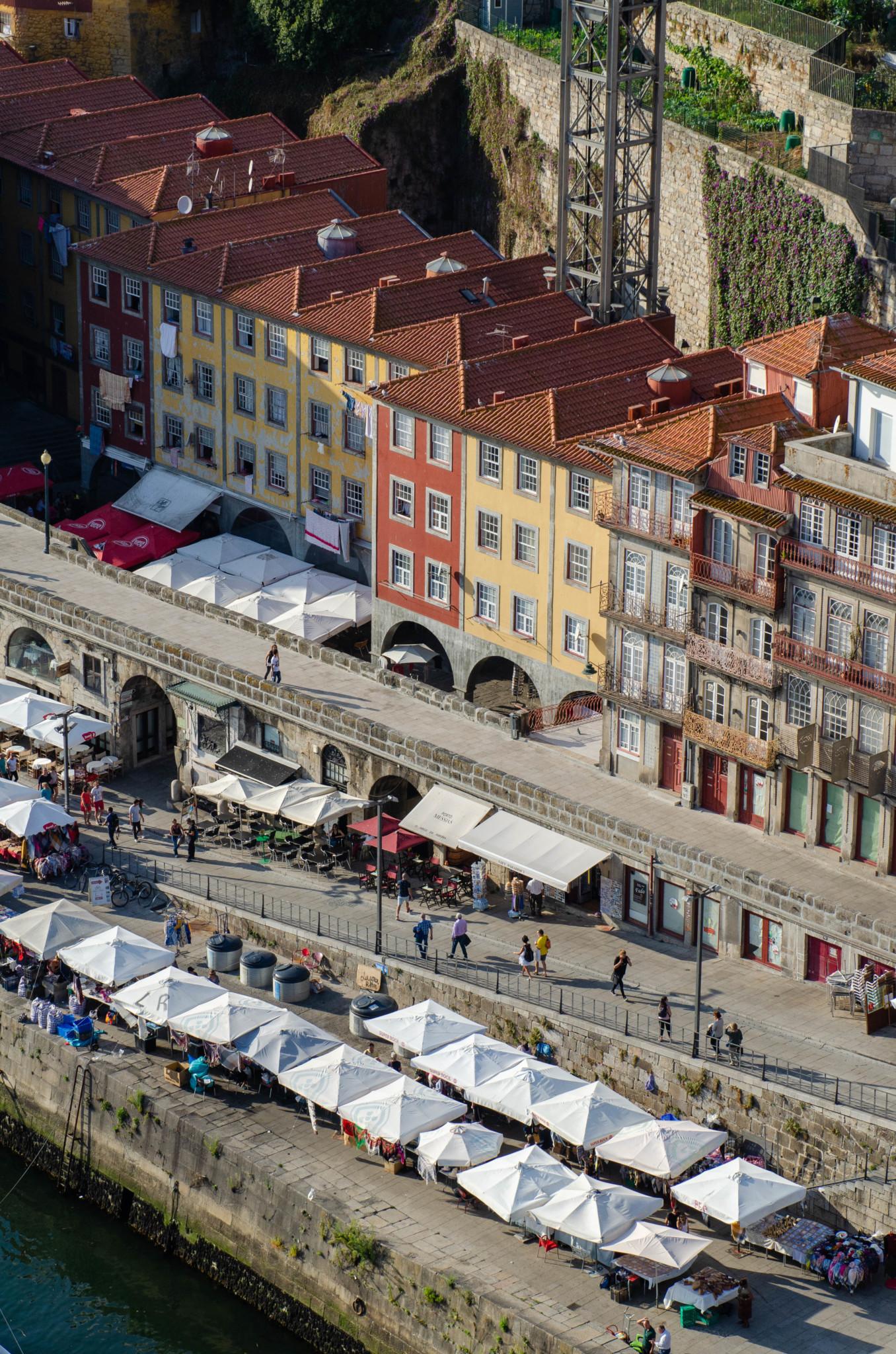 Aussicht von der Ponte dom Luis