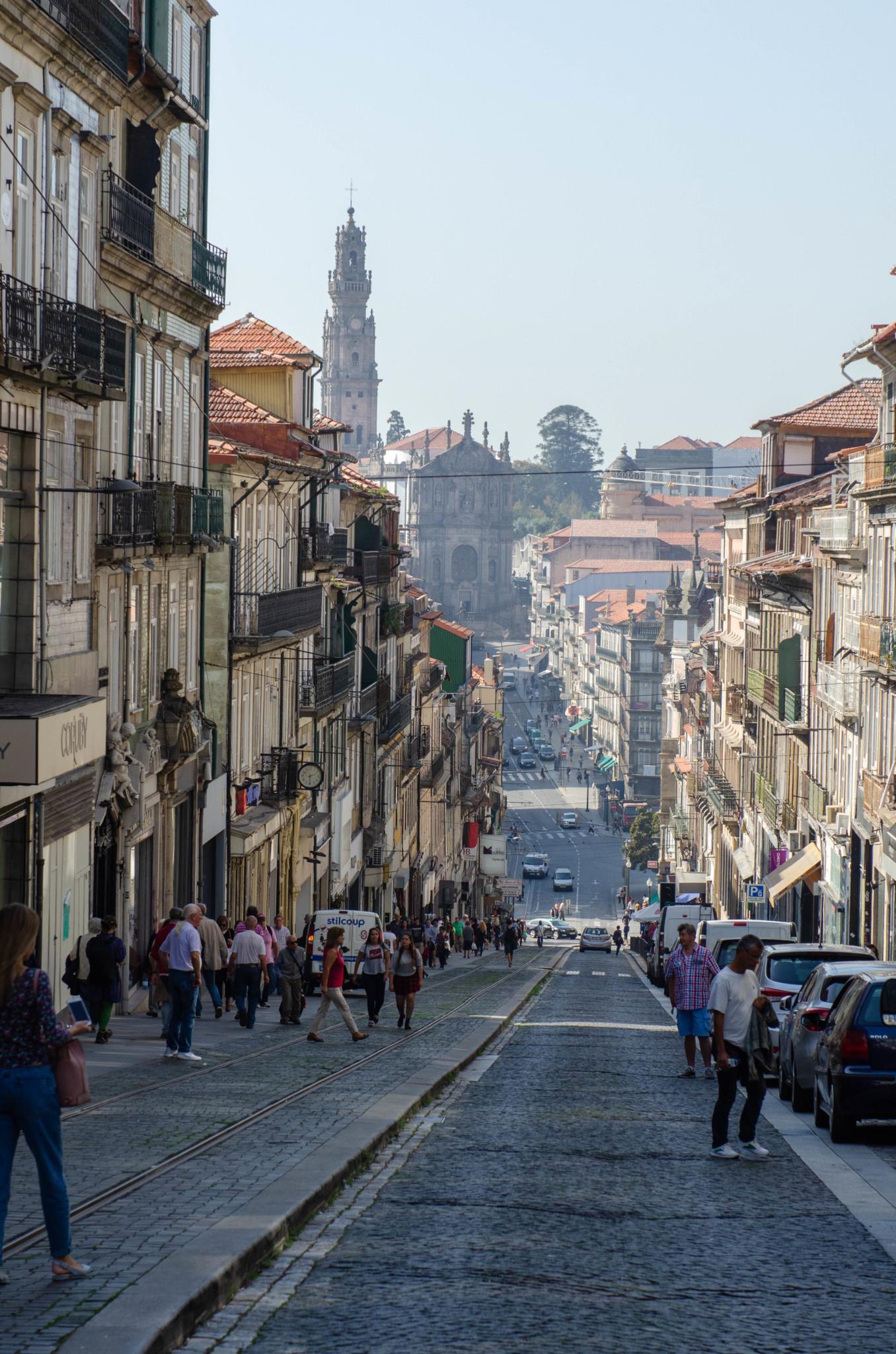 Gasse in Porto Portugal