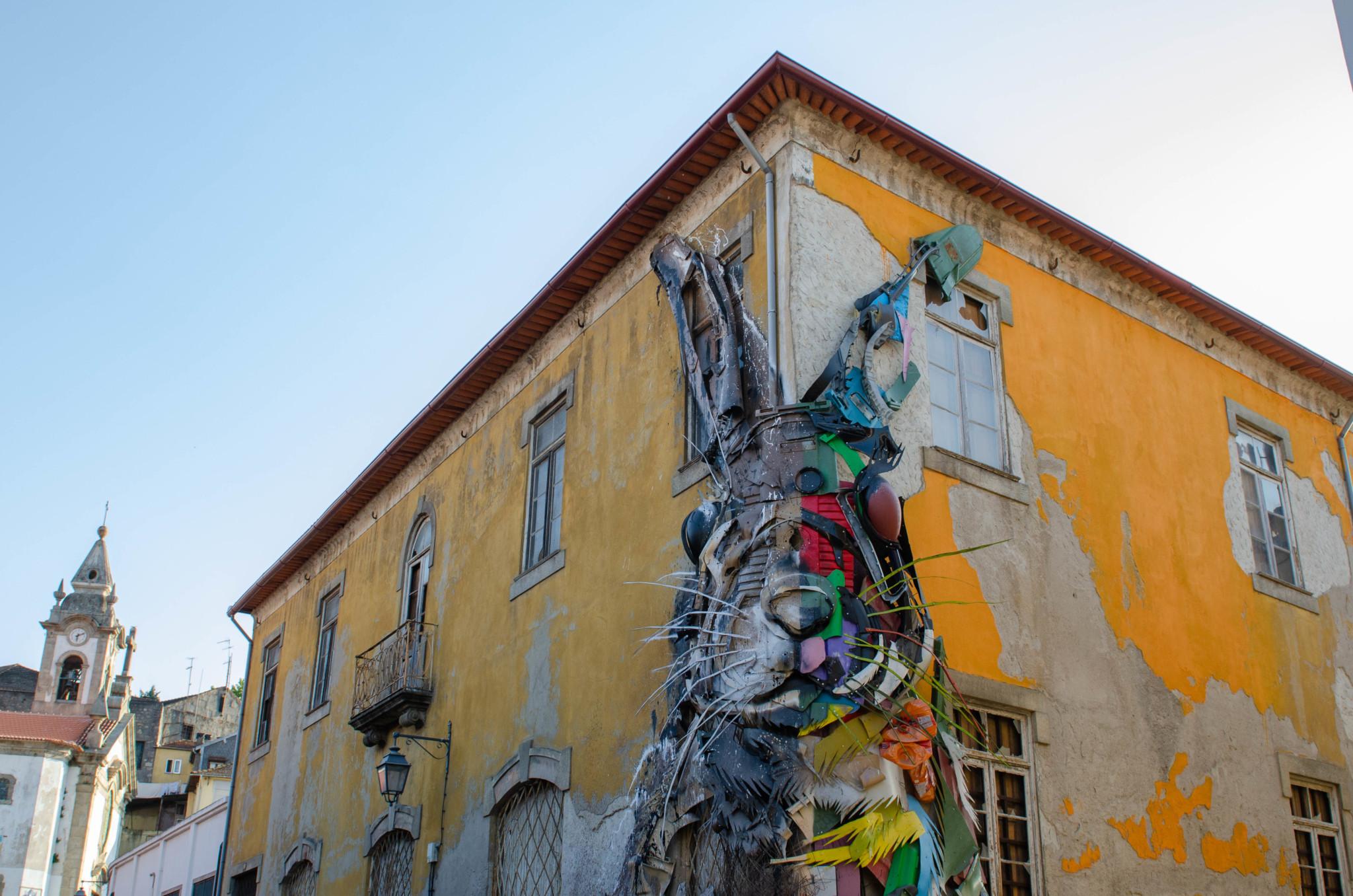 Streetart zwischen den Porto Sehenswürdigkeiten